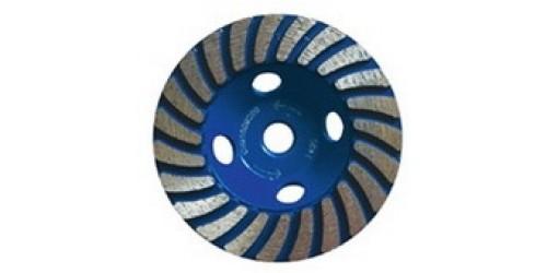 Алмазная чашка BLU для обработки гранита, натурального камня, цементной стяжки и плитки
